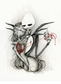 jack and sally | Tumblr
