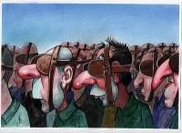 Irancartoon Web Gallery :: The Exhibition of Cartoon /Piracicaba-Brazil-2012 :: Halit_Kurtulmush_Aytoslu_Turquia2