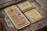 Laser Cut Wedding Invitation by Chase Kettl
