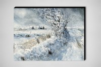 "Saatchi Online Artist: Keith Andrew; Watercolor, Painting ""Snow Lane"""