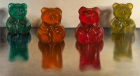 "Saatchi Online Artist: Lex Hade; Oil, 2011, Painting ""Sugar Bears"""