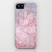 Be An Adventurer iPhone Case by Ally Coxon | Society6