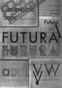 Toutes les tailles | TYPEFACE POSTER FUTURA 2 | Flickr: partage de photos!