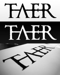 Taer logo | | 3mmi Design | Art of Pierre-Alain D. | Digital artist, graphic designer, illustrator and webdesigner. CD artwork, cd artworks, cd, dvd, book, cover, illustration, design infographiste webdesigner freelance, Nantes, Pays de la Loire, France. Digital Art, webdesign, artworks & illustrations, Nantes, France