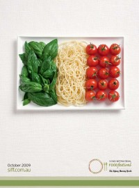 "Sydney International Food Festival: Flags, Italy | Ads of the Worldâ""¢"