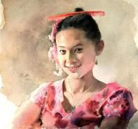 Art Of Watercolor: Guan Weixing. Interview.