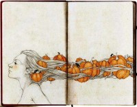 Beautiful Hand-Drawn Illustrations by Elia Fernández | inspirationfeed.com