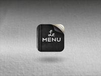Le Menu - Icon Design - Creattica
