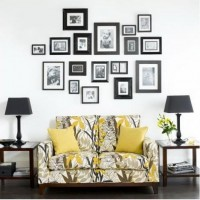 Picture Frame Wall Ideas | Home Ideas and Contemporary Design