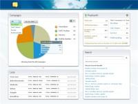Dasboard for Web Application
