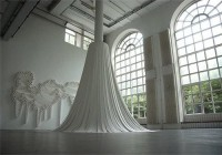 Artist Transforms Toilet Paper Into Beautiful Art Installation - DesignTAXI.com