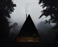 "Cabin Porn: ""Black Lodge"" by Jagnefalt Milton in Furillen,..."