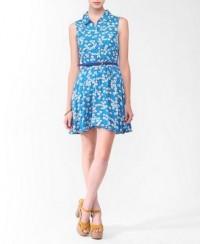 Floral Collar Dress | FOREVER21 - 2011408364