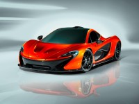 McLaren P1 - Car Body Design