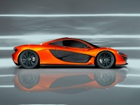 McLaren P1 - Car Body Design