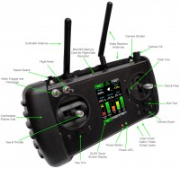 Handheld Controller / Transmitter Technical Specifications - Draganflyer X6 Helicopter - Draganfly Innovations Inc.