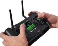 Handheld Flight Controller - Draganflyer X6 Features - UAV Helicopter Aerial Video Platform
