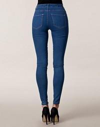 Skinny High Leslie Jeans - Only - Denim blå - Jeans - Klær - NELLY.COM Mote online