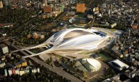japan national stadium competition - shortlisted projects
