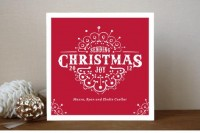 White Christmas Holiday Cards by Cadence Paige Design | Paper Crave