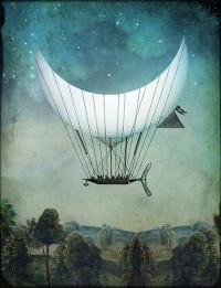 """The Moon Ship"" by Catrin Welz-Stein 