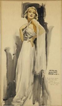 Random vintageartists - BLOG - FUTURISTICALLY VINTAGE PIN UP PORTRAIT ART OF SANTIAGO