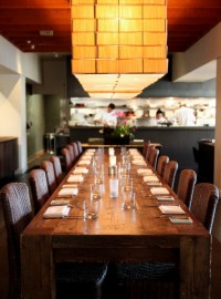 Communal table 2 - free stock photo - Veezzle