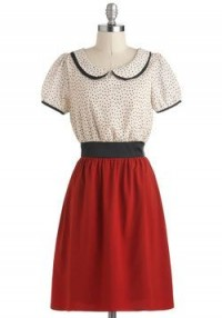 Haute Dotty Dress | Mod Retro Vintage Dresses | ModCloth.com