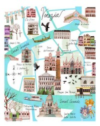 Venice Map by josieportillo on Etsy