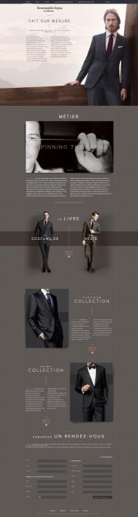 Webdesign luxury