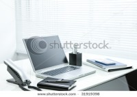 Office Desk Stock Photo 31919398 : Shutterstock