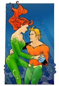 Aquaman and Mera Coloured by ~Spock-tM