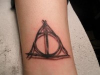 harry potter tattoo deathly hallows - Google Images