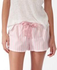 Vertical Stripe PJ Shorts | FOREVER21 - 2030187080