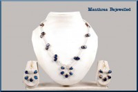 White and Blue Crystals - Craftsia - Indian Handmade Products & Gifts