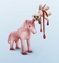 Disturbing and Violent Plush Toys by Patricia Waller | inspirationfeed.com