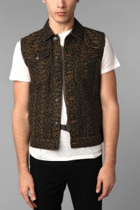 Kill City Leopard Vest - Urban Outfitters