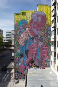 Street art by Aryz | InspireFirst