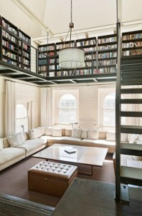 Bookshelf Porn, dyingofcute: Tribeca, New York Duplex with...