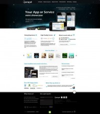Openxcell draft website design by limitless | Shadowness