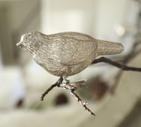 Vintage glass bird - Great Stuff - Shopping - Style At Home