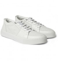 Yves Saint Laurent Malibu Leather Sneakers | MR PORTER