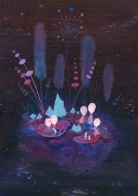 Pools of Light Limited Edition Print by apak on Etsy