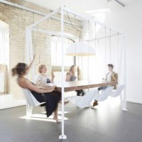 Sway Your Guests With the Swing Table by Duffy London | Apartment Therapy