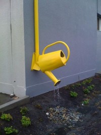 Clever Downspouts: Fun Ways to Make the Rain Rain Go Away | Apartment Therapy