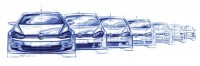 02-Volkswagen-Golf-Evolution-Design-Sketch-01.jpg (1600×527)