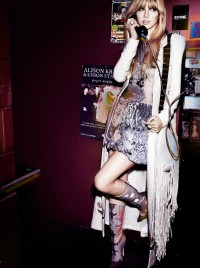 Taylor Swift American Vogue February 2012 | Mario Testino