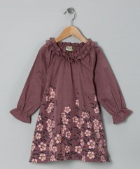 Mauve Mel Miko Dress - Infant, Toddler & Girls | Daily deals for moms, babies and kids