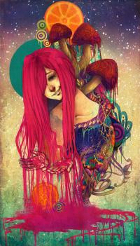 C?m h?ng illustration ??y màu s?c t? Monique Munoz | Y2Graphic - Freelance web & Graphic designer | Illustration