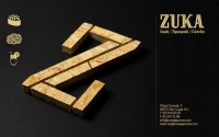 Zuka Restaurant Sant Cugat graphic design by Lo Siento Studio, Barcelona